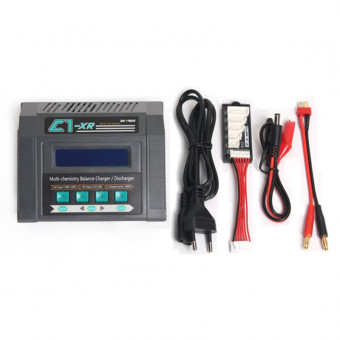 Зарядное устройство универсальное - C1XR AC (LiXX, LiHV, NiXX, Pb, 220/12V, 100W, C:10A, D:2A)