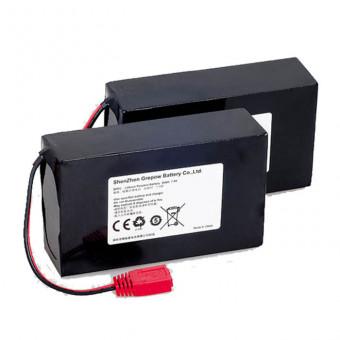 Литиевая аккумуляторная батарея (7,4V 20AH) комплект 2 шт